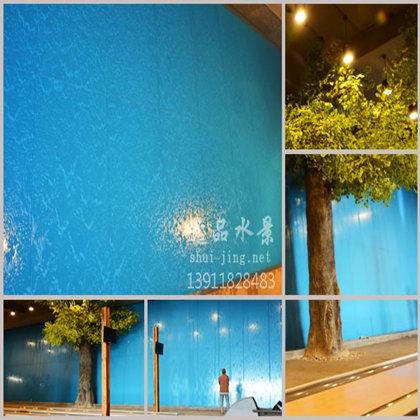 玻璃水幕墙