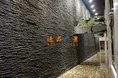 室内石材水幕墙