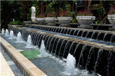 售楼处水景喷泉
