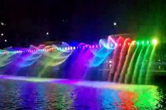 七彩景观动态音乐喷泉