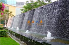 广场水景水幕墙跌水喷泉